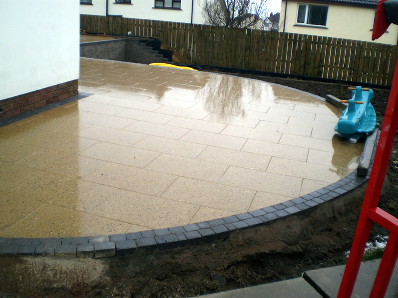 Block Paving and Steps